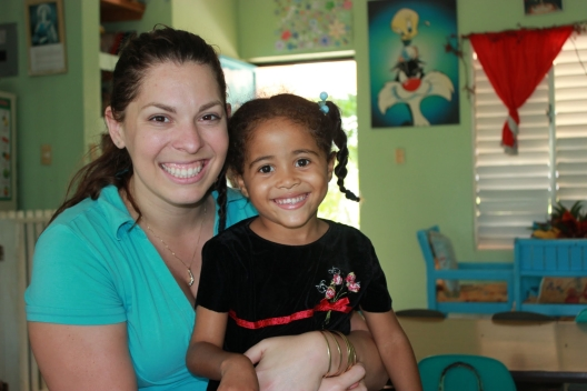 Visitor at the NPH Dominican Republic home